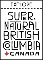 Explore Super Natural British Columbia Canada Logo