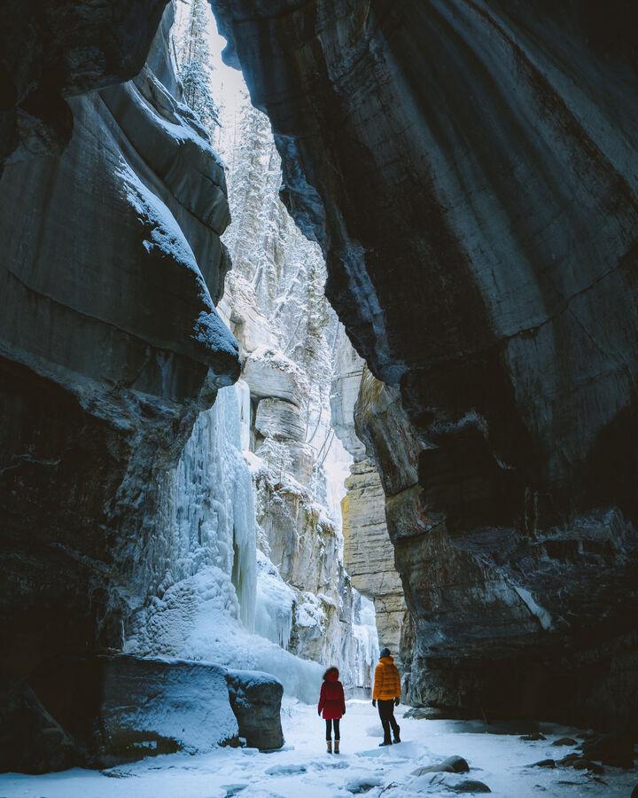 Maligne Canyon Icewalk, Jasper