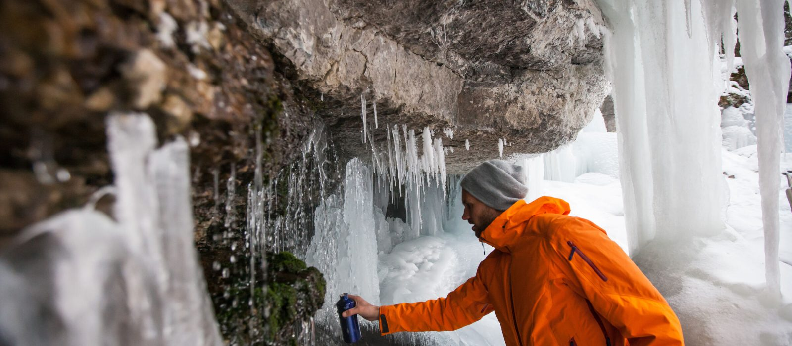 Icewalk through Maligne Canyon, Jasper National Park